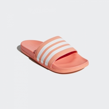 adidas adilette cloudfoam plus stripes  slide