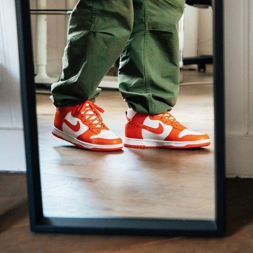 nike dunk high sp syracuse   2021